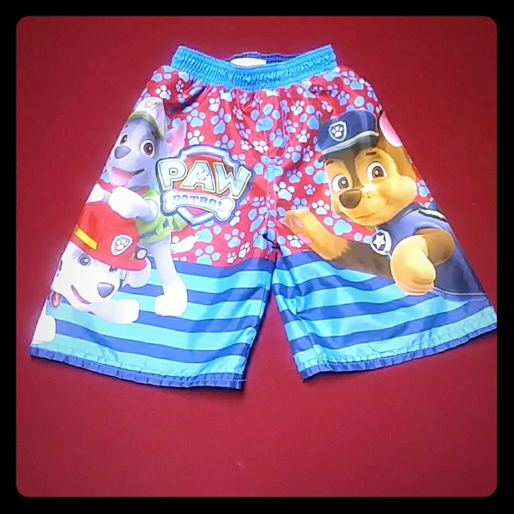 1a14178fbf Swim | Nickelodeon Paw Patrol Trunks 4t Suit | Poshmark